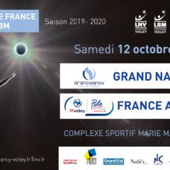 Samedi 12 octobre : NANCY / FRANCE AVENIR 2024
