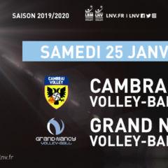 Samedi 25 janvier à Cambrai
