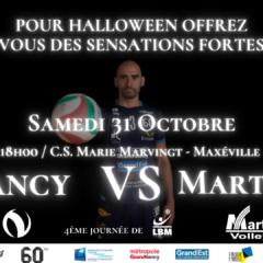 Achetez vos billets pour Grand Nancy Volley Ball – Martigues Volley Ball
