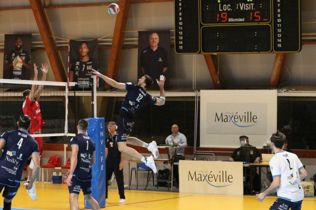 Le résumé vidéo du match Grand Nancy Volley Ball – Martigues Volley-Ball