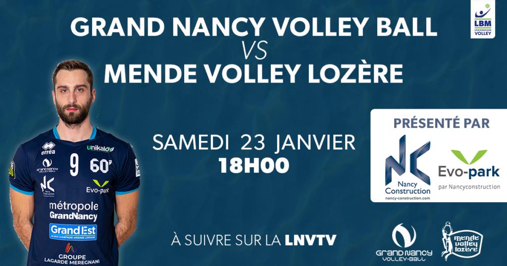 Grand Nancy Volley Ball – Mende Volley Lozère