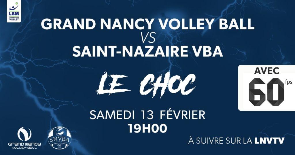 Grand Nancy Volley Ball – Saint-Nazaire Volley-Ball Atlantique