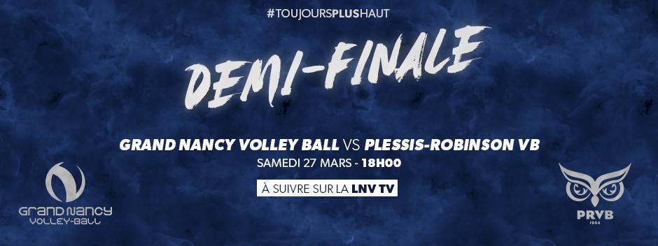 Le Grand Nancy Volley Ball en demi-finale !