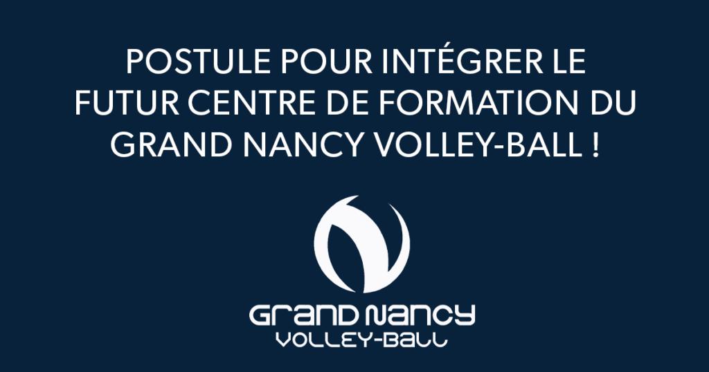 Intègre le centre de formation du Grand Nancy Volley-Ball !