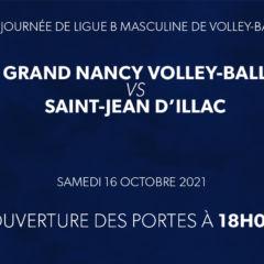 La rencontre Grand Nancy Volley Ball – AS Illacaise VB